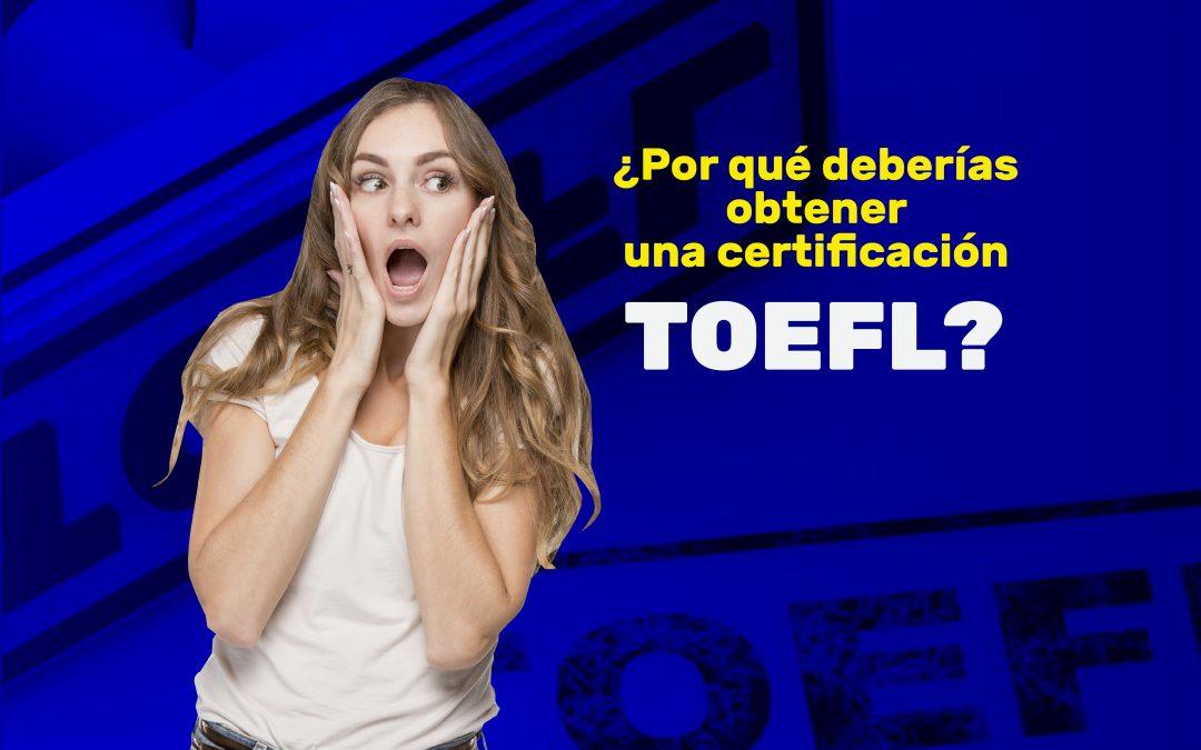 certificado TOEFL