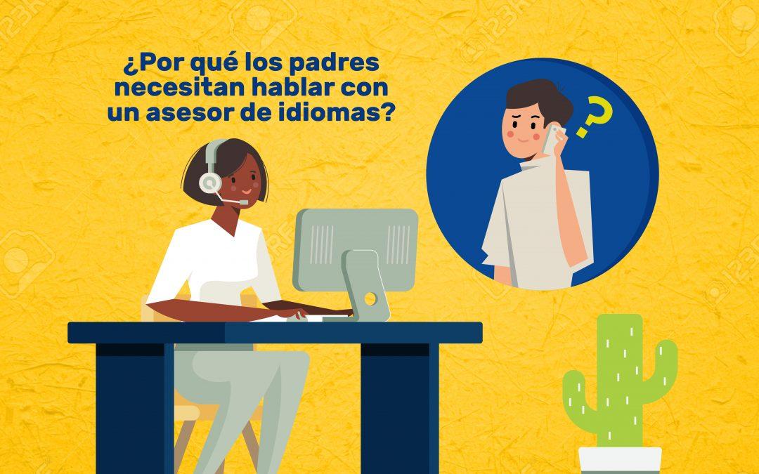 ¿Por qué los padres necesitan hablar con un asesor de idiomas?