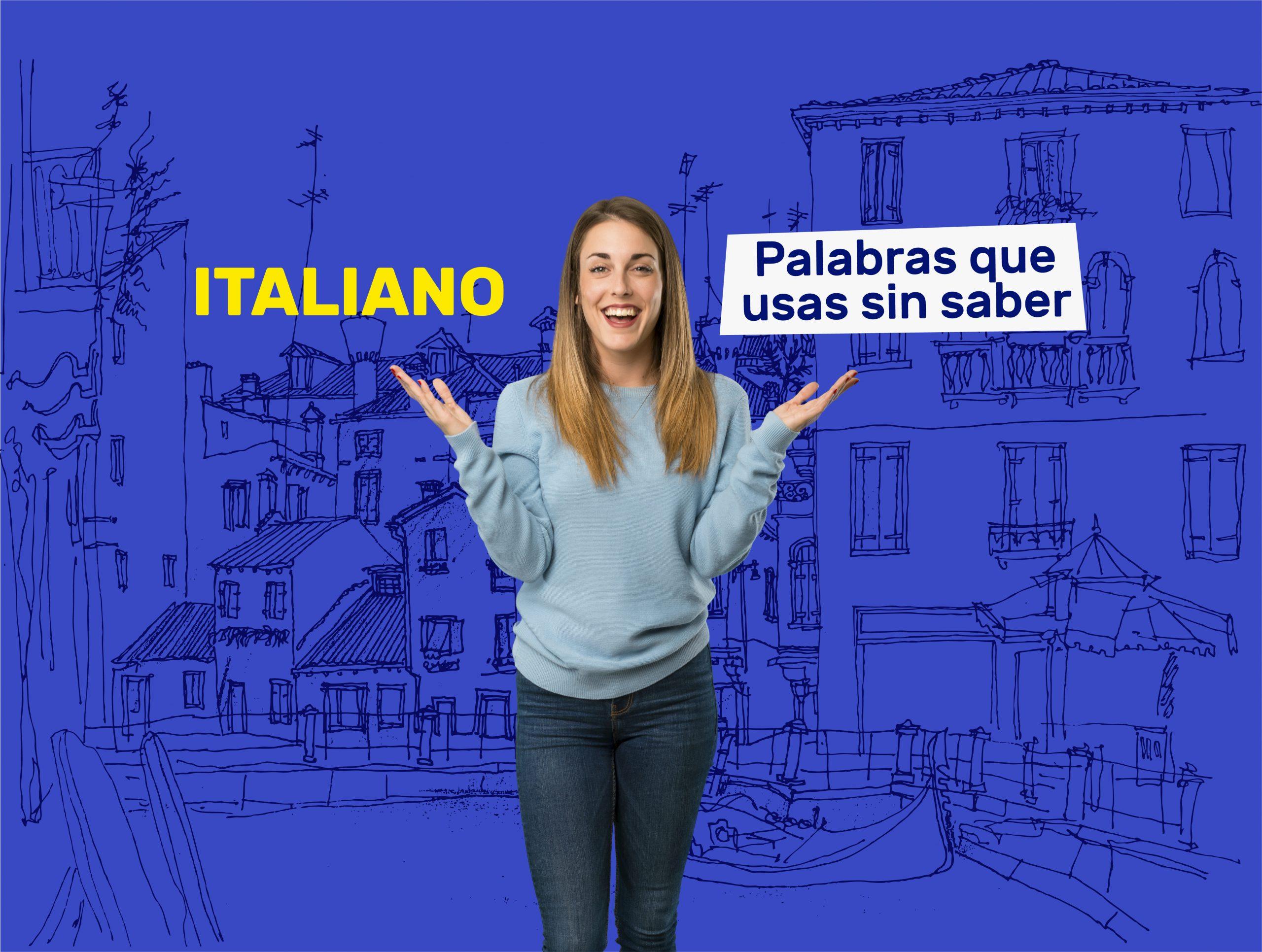 palabras en idioma italiano