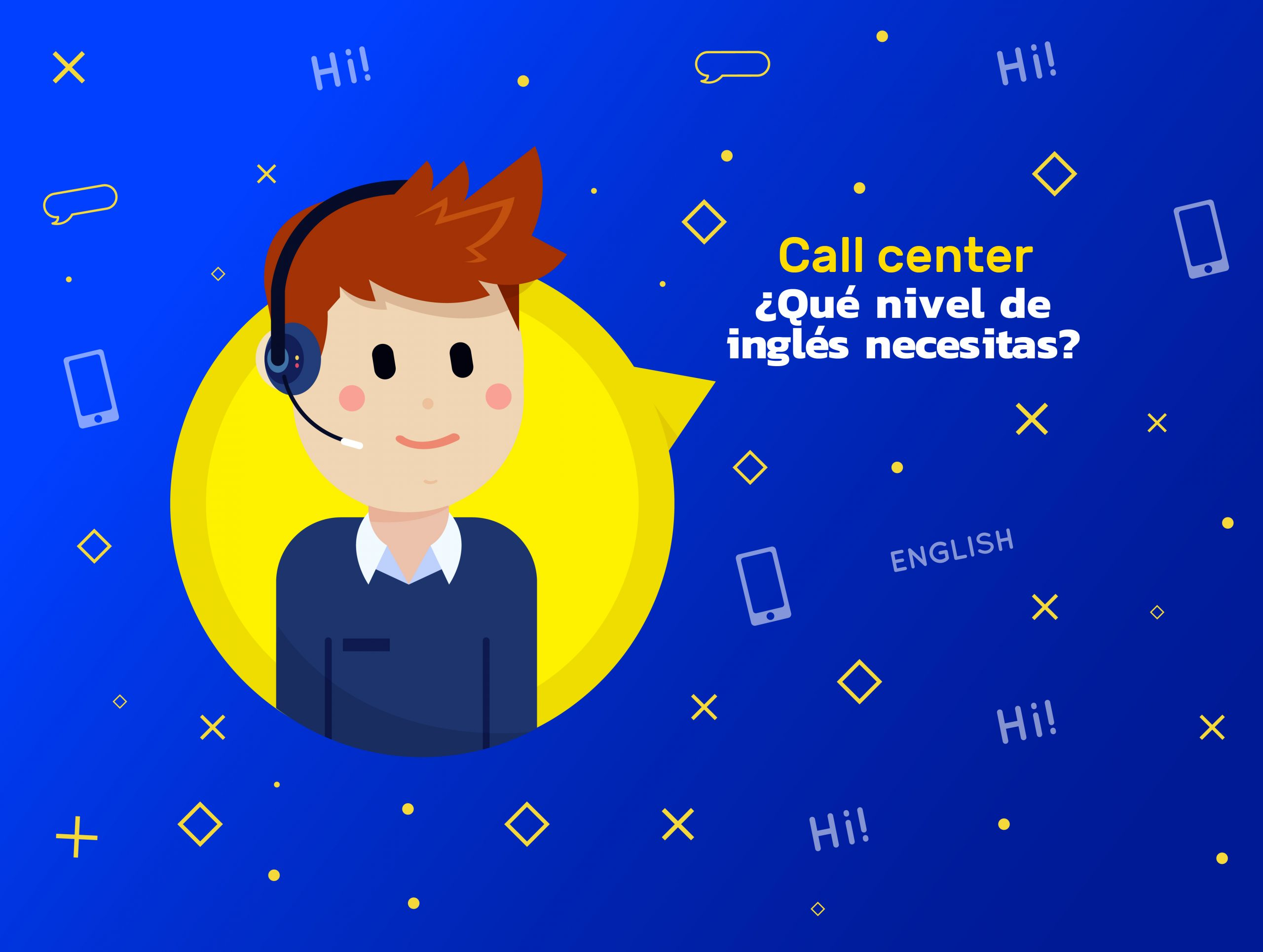Inglés para trabajar en un call center