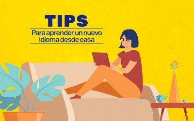 Tips para aprender un nuevo idioma desde casa