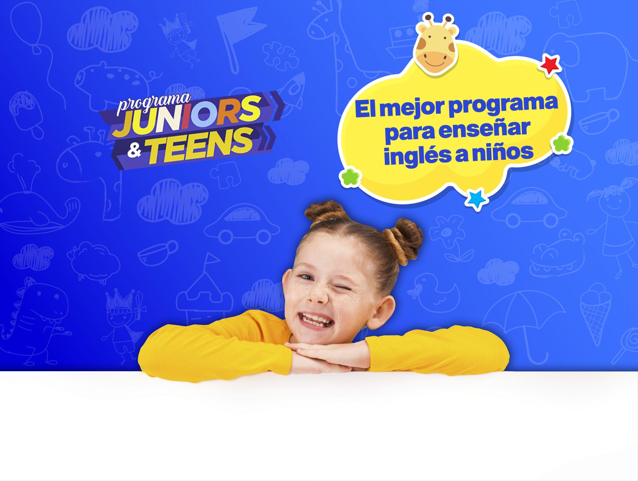 Juniors &Teens programa para enseñar inglés a niños
