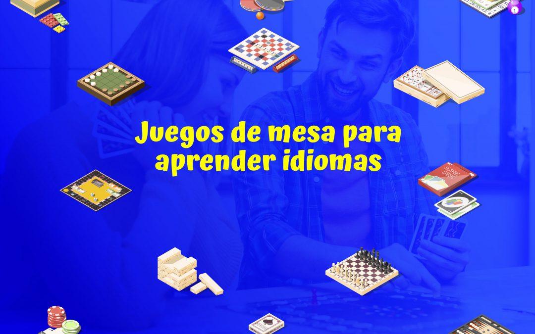 Juegos de mesa para aprender idiomas