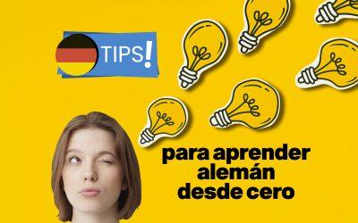 Tips para aprender alemán desde cero