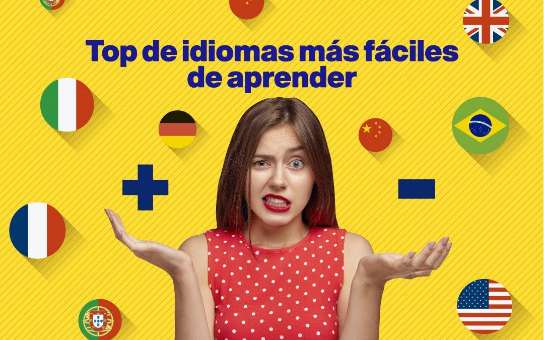 Top de idiomas más fáciles de aprender