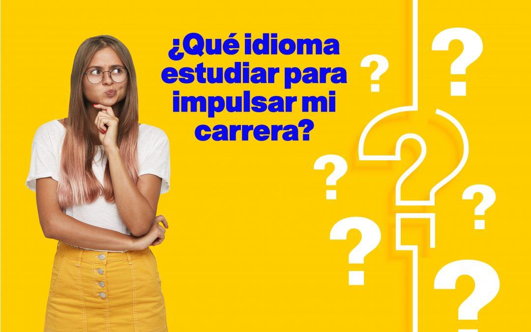 ¿Qué idioma estudiar para impulsar mi carrera?