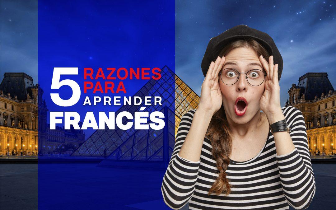 5 razones para aprender francés