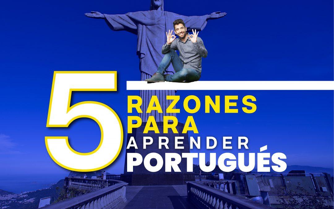 5 razones para aprender portugués